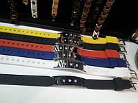 Силиконовый браслет с магнитными вставками, германием, спорт браслет, фото 1