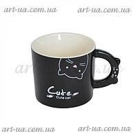 Керамическая кружка Cat разные цвета, кружка Handbag , чашка, фото 1