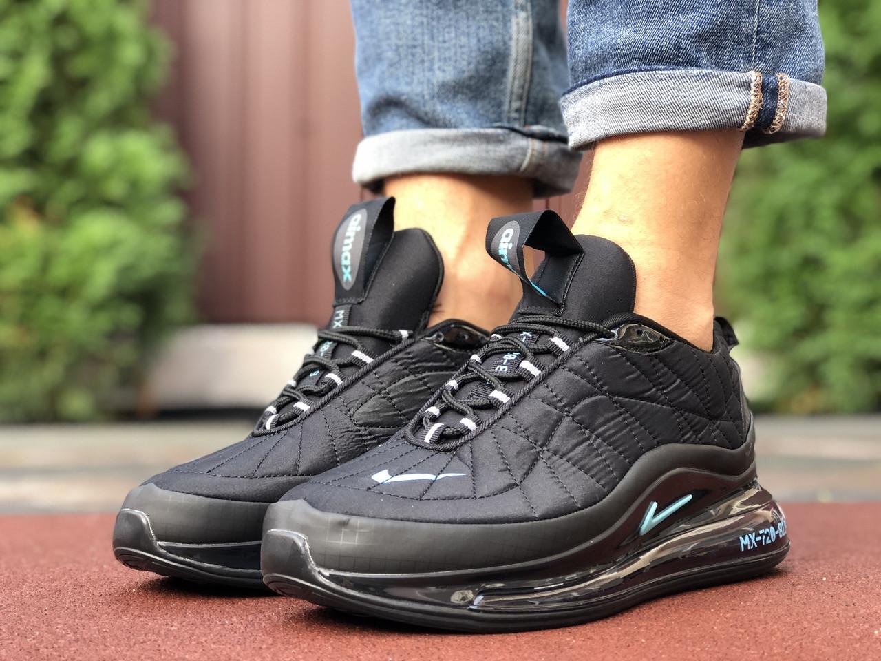 Nike Air Max мужские зимние черные кроссовки на шнурках 42
