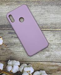 Huawei Y6 2019 Чехол матовый цветной силиконовый ультратонкий/ бампер/ накладка/ пудра