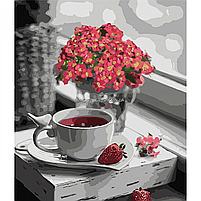 Картина по номерам Идейка «Наслаждаясь моментом» 30x40 см (КНО5583), фото 4