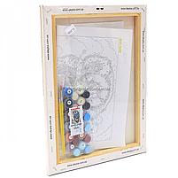 Картина по номерам Идейка «Сова» 30x40 см (КНО2458), фото 3