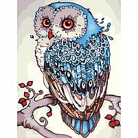 Картина по номерам Идейка «Сова» 30x40 см (КНО2458), фото 4