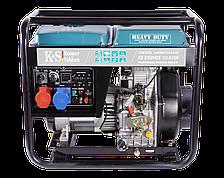 Генератор на дизельном топливе Konner&Sohnen KS 8102HDE-1/3 ATSR (6,5 кВт, 220/380В)