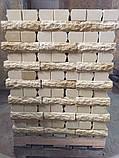 Облицювальна цегла жовтий скеля 250*90*65мм, фото 4