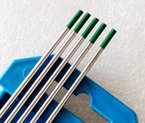 Вольфрамовые электроды WP зеленые Binzel (чистые) - WE - D 3,0 / 175 мм