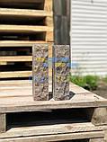 Облицовочный кирпич коричневый скала 250*90*65мм, фото 3