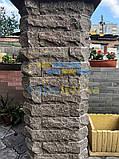 Облицовочный кирпич коричневый скала 250*90*65мм, фото 4