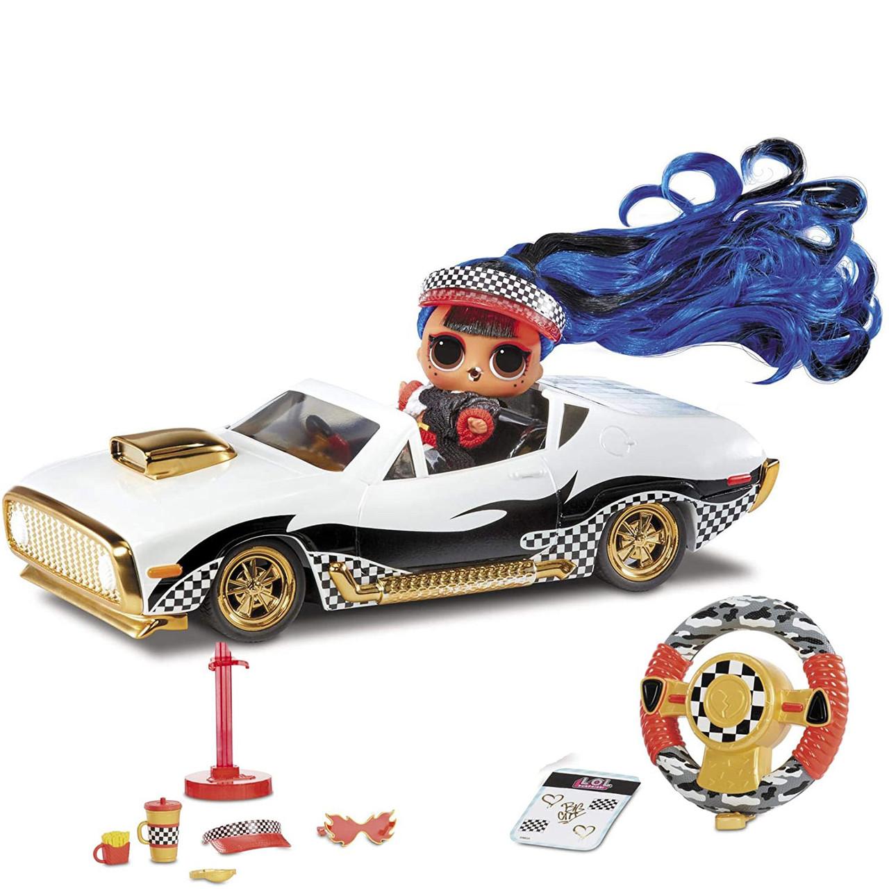 Кукла ЛОЛ Машина на радиоуправлении кабриолет L.O.L. Surprise! RC Wheels Remote Control Car