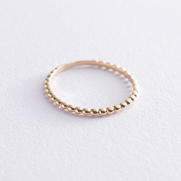 Кольцо в желтом золоте к06633