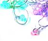 Светодиодная LED гирлянда Xmas 20 Parts-1 матовые шарики, фото 2