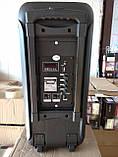 Колонка-чемодан ZPX c микрофоном (USB/Bluetooth/FM/LED/TWS) 150W, фото 6