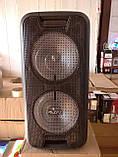 Колонка-чемодан ZPX c микрофоном (USB/Bluetooth/FM/LED/TWS) 150W, фото 7
