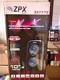 Колонка-чемодан ZPX c микрофоном (USB/Bluetooth/FM/LED/TWS) 150W, фото 8