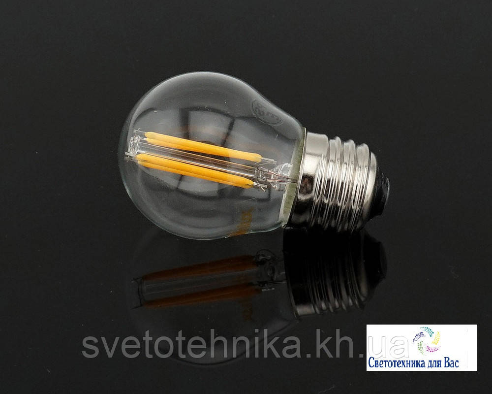 Светодиодная лампа Feron - filament LB-161 6W E27 2700K 6w для общего и декоративного освещения