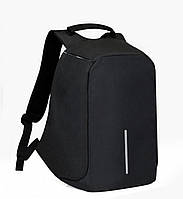 Умный рюкзак антивор Bobby XD Бобби с Usb зарядкой черный + Подарок sale