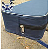 Высокое мягкое лодочное сиденье Bark с багажником рундуком мягкая накладка на банку с сумкой 10х75х20 см, фото 4