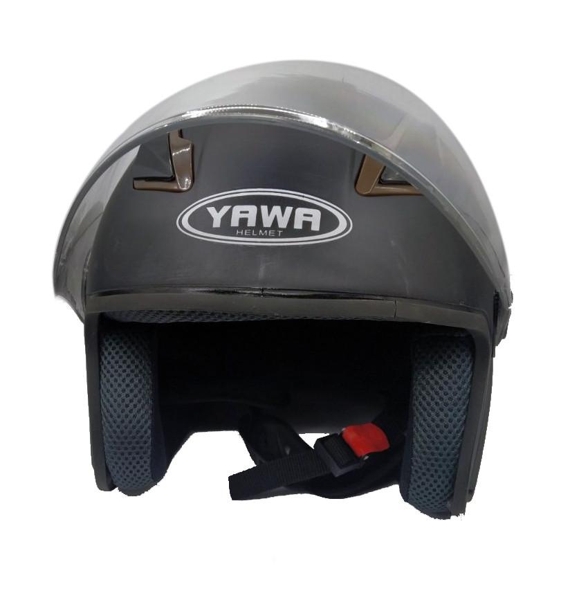 Мотошлем  YAWA черный матовый