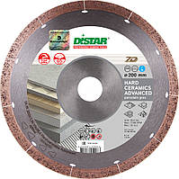 Диск алмазный отрезной Distar 1A1R Hard ceramics Advanced (200x25.4 мм) (11120349015)
