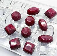 Ассорти камни  поликарбонатная форма для  шоколада