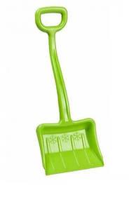 Зимова лопата для снігу зелена