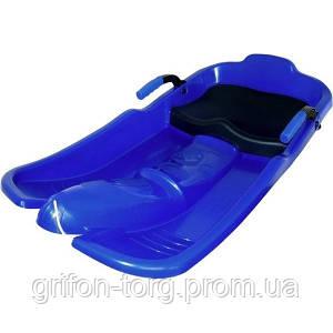 Снігокат дитячий Plastkon Turbo Jet синій
