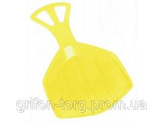 Зимние санки-лопата Plastkon Klaun Yellow