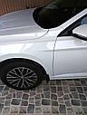 Брызговики MGC Volkswagen Jetta (Фольксваген Джетта) 2019+ г.в. Америка комплект 4 шт, фото 5