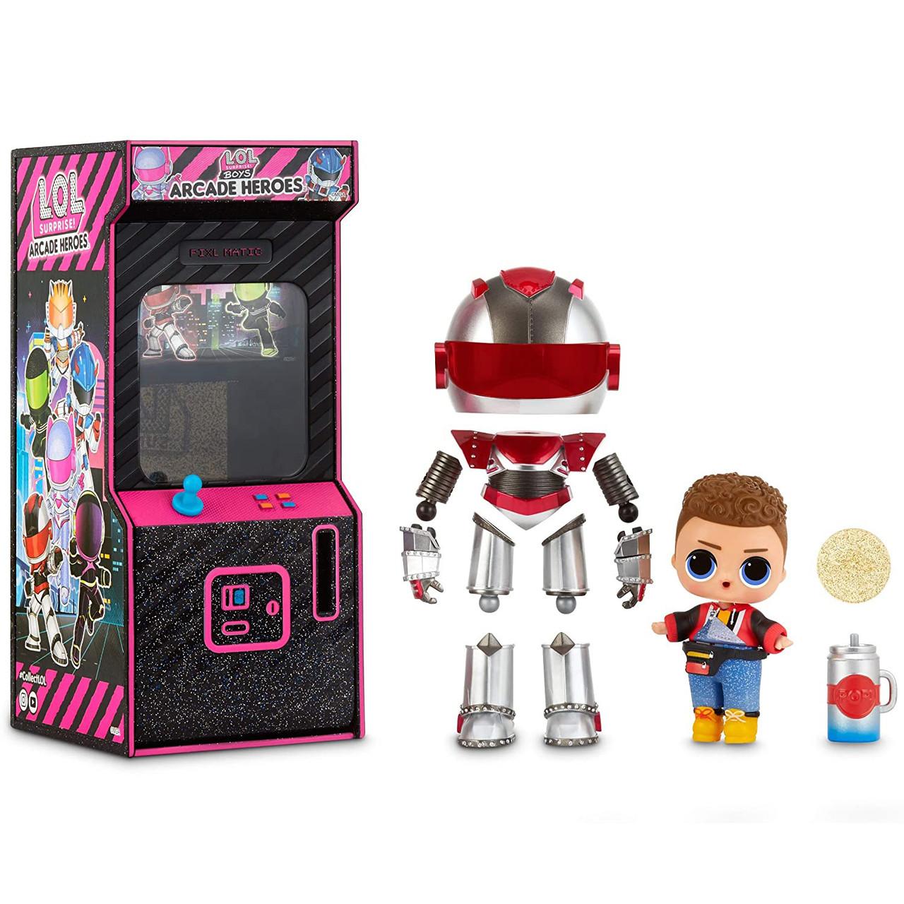 Лол Космонавты Герои аркады L.O.L. Surprise Boys Arcade HeroesКод: 569374