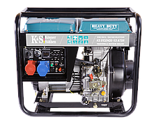 Дизельный генератор KS 9102HDE-1/3 ATSR (7,5 кВт, 220/380В, эл. стартер)