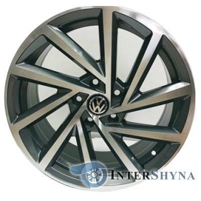 Литі диски Replica Volkswagen CT1108 7.5x17 5x112 ET45 DIA57.1 GMF, фото 2