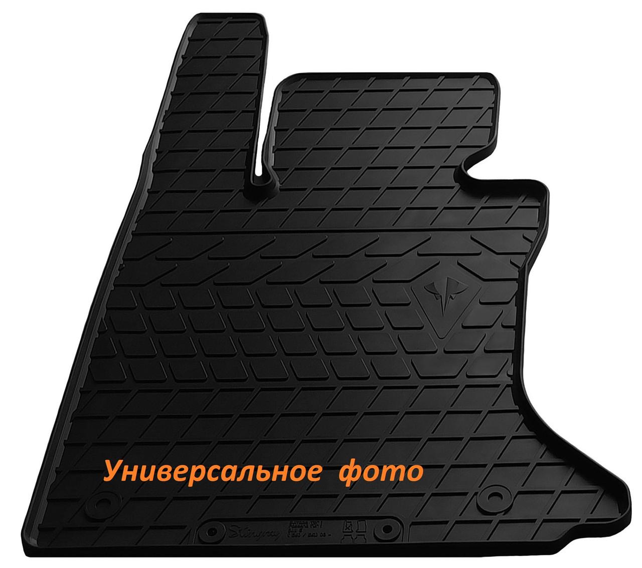 Водительский резиновый коврик для  ВАЗ 2115  1997-2012 Stingray
