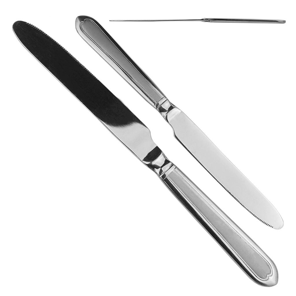 """""""Италия"""" Нож столовый L23см высший сорт / цена за 1 шт в упаковке 12 шт"""