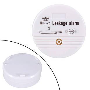 Датчик протечки воды беспроводной автономный, сигнализация 90дБ, HH-LS518A