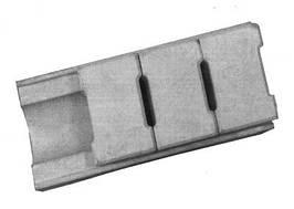 Скрытый водосток, 40*18*10 см, серый