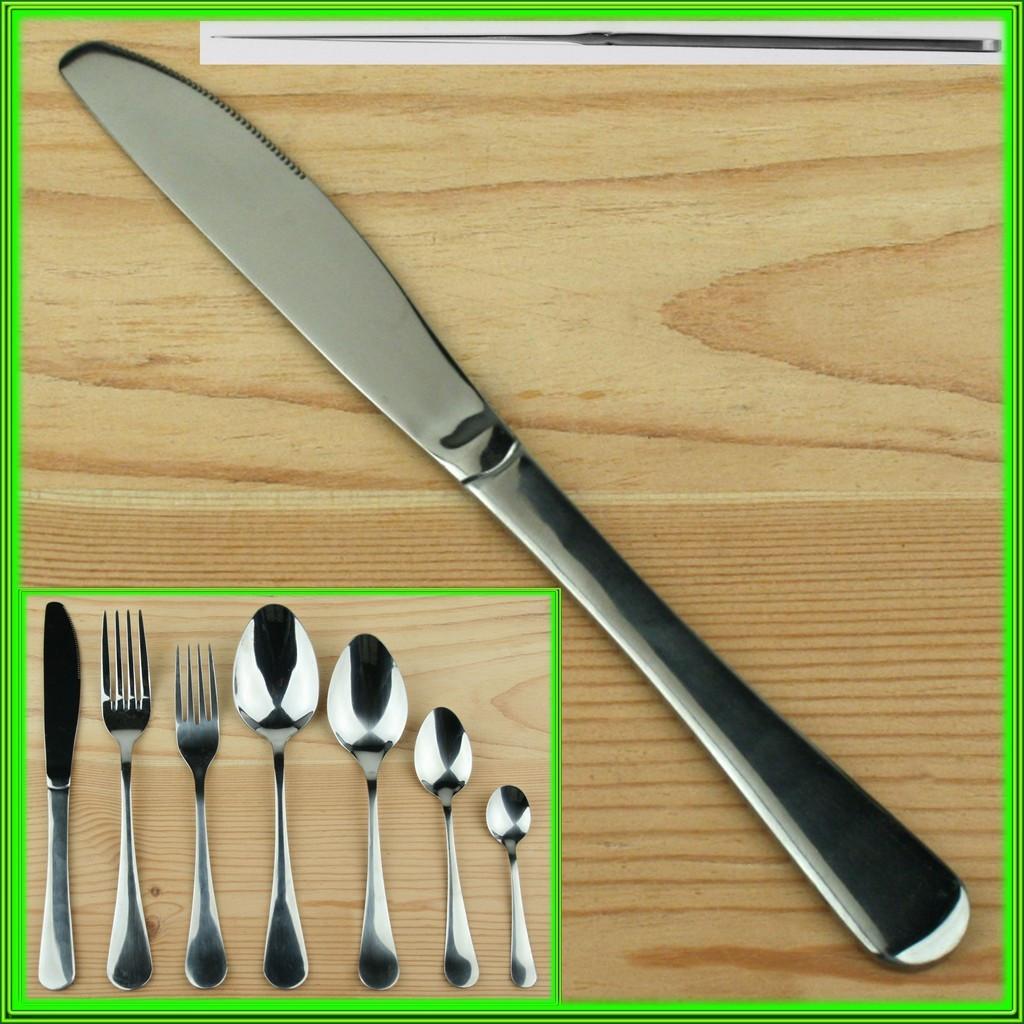 """""""Прага"""" Нож столовый L22см высший сорт / цена за 1 шт в упаковке 12 шт"""