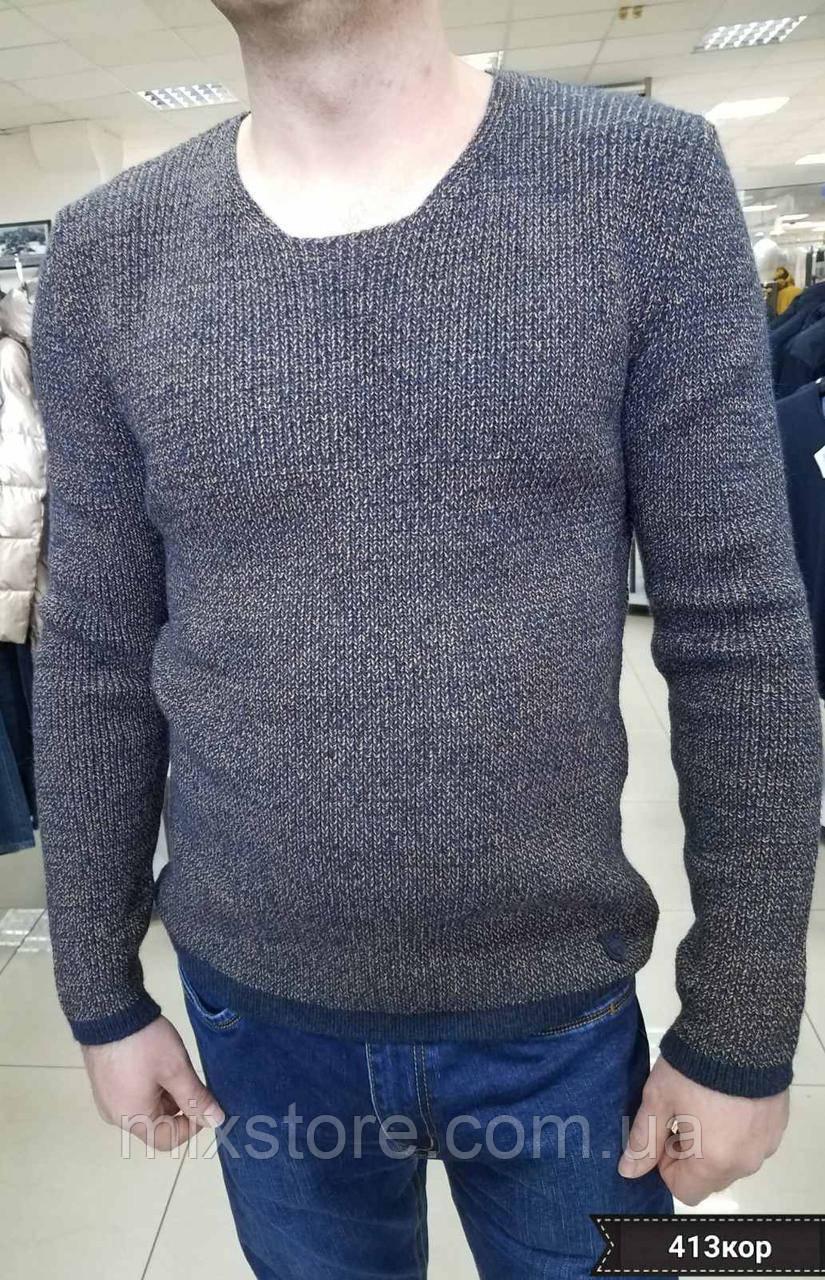 Мужской вязаный, теплый пуловер MCR, Турция
