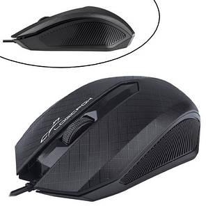 USB оптична миша дротова Logicfox LF-MS 070, 1200dpi, ергономічна