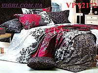 Постельное белье, евро комплект, ранфорс, Вилюта (VILUTA) VР 12172