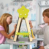 Мольбер двухсторонний магнитный для творчества, учебы и рисования светом