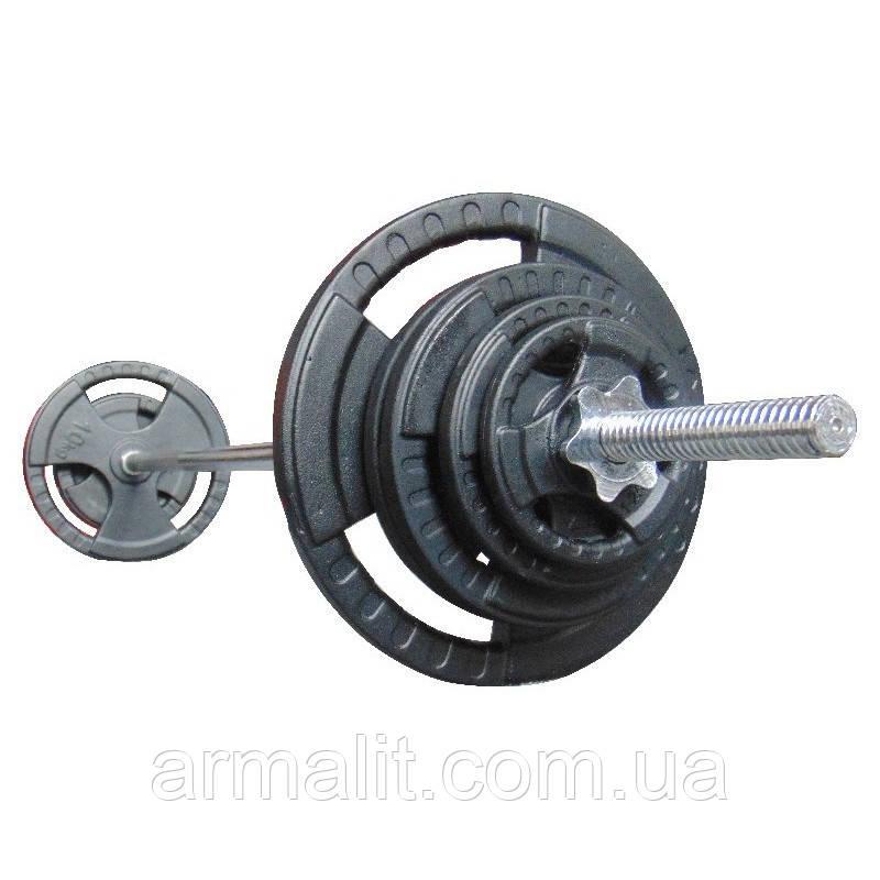 Штанга  47 кг стальная. 1.8 м