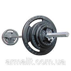 Штанга наборная  47 кг  АРМАЛІТ-2015  1.8 м