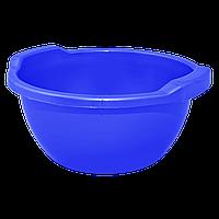 Таз пластм. 34 л синий