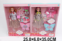 Кукла JX300-6 (1951254) (36шт/2) 2 вида,с аксессуарами,в кор.25*6*35 см, р-р игрушки 29 см