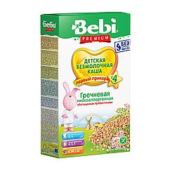 Безмолочна каша Bebi Premium Гречана низькоалергенна, 4+, 200г