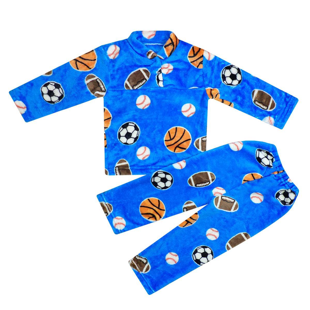 Пижама детская махровая для мальчика махра
