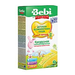 Безмолочна каша Bebi Premium Кукурудзяна низькоалергенна, 5+, 200г