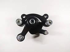 Суппорт тормозной левый механический под дисковый тормоз детских миниквадроциклов 36v \ 49cc, фото 2