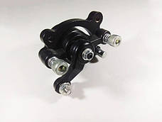 Суппорт тормозной левый механический под дисковый тормоз детских миниквадроциклов 36v \ 49cc, фото 3