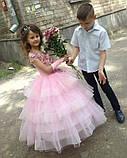 Пишне ошатне плаття Катрін на 4-5, 6-7, 8-9 років, фото 10